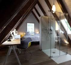 salle de bain dans chambre sous comble beautiful amenagement combles chambre salle de bain ideas design