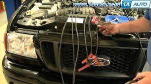 how to install replace spark plug wires 1aauto com youtube