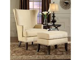 Fairfield Chairs Fairfield Chairs Contemporary Wing Chair U0026 Ottoman Set With Nail