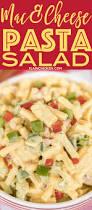 mac u0026 cheese pasta salad plain chicken