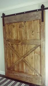 Barn Style Sliding Door by Ana White Diy Sliding Barn Door Diy Projects