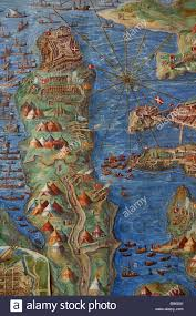 Map Of Rome Italy by Italy Lazio Rome Gallery Of Maps At The Vatican Museum Detail