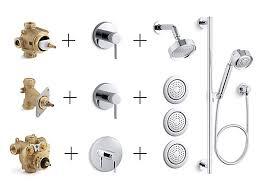 Bathroom Shower Valves Shower Valves Trims Controls Guide Bathroom Kohler