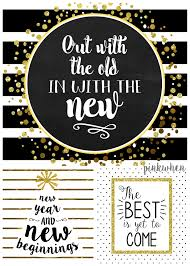 Happy New Year Decorations 2016 by 3 New Years Free Printables Pinkwhen