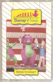Barney And The Backyard Gang Logo Barney 2 Barney In Concert Cassette At Discogs