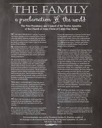 family proclamation best 25 family proclamation ideas on proclamation on