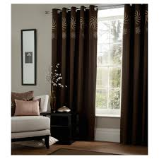 Chocolate Curtains Eyelet Plum Eyelet Curtains 90 90 Functionalities Net