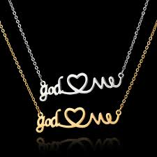 stainless steel choker necklace images 2017 new arrival stainless steel choker necklace jewelry god love jpg