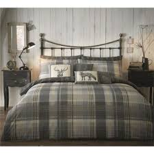 Tesco Bedding Duvet Buy Dreams N Drapes Connolly Check Duvet Cover Set Double From