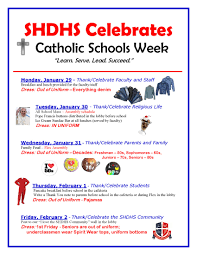 high school agenda catholic schools week agenda st henry district high school