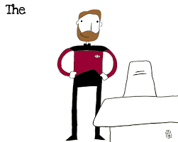 Riker Chair Commander William T Riker