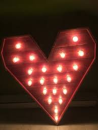 valentines day lights pallet s day decorating ideas recycled things