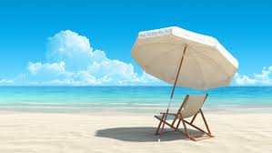 Beach Lounge Chair White Beach Lounge Chair And Umbrella Background Gallery