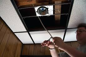 Installing Pot Lights In Insulated Ceiling How To Install Can Lights In An Existing Ceiling