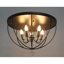 Bedroom Ceiling Light Fixtures Ceiling Light Fixtures In 5 Light Black Wrought Iron