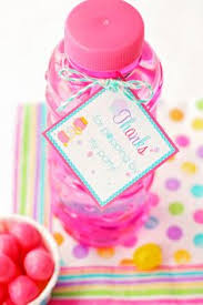 diy bubble party favors with printable party time pinterest