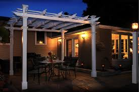 10 X 10 Pergola by New England Arbors Tuscany 10 U0027 X 10 U0027 Pergola With Short Base