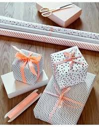where to buy pretty wrapping paper patterned black and white gift wrap with blush pink or