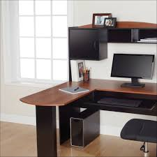 Glass L Shaped Computer Desk Furniture Awesome Glass L Shaped Desk Amazon L Shaped Computer
