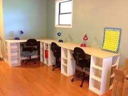 Kids Homework Desk Homeschool Desk Setup Best Home Furniture Decoration