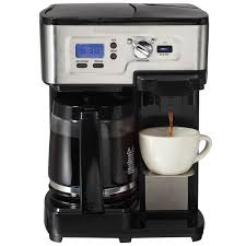Coffee Maker With Grinder And Thermal Carafe Dual Coffee Makers Hamiltonbeach Com
