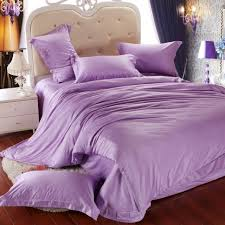Lilac Bedding Sets Luxury Light Purple Bedding Set King Size Lilac Duvet Cover