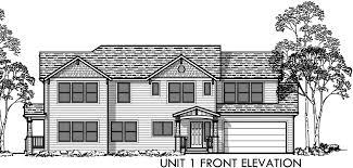 House Plans With Dual Master Suites by Corner Lot House Plans Duplex House Plans Two Master Suites