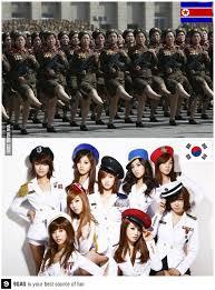 North Korea South Korea Meme - north korea and south korea in a simple image north korea memes
