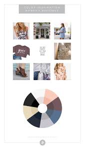 color palette inspiration by industry fashion blog humble