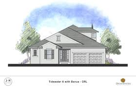 Tidewater House Plans Tidewater W Bonus Dream Finders Homes
