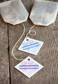 personalized tea bags 16 best tea bag tags images on bag tag gifts and tea tag
