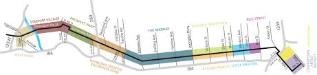Light Rail Map Minneapolis On The Green Line