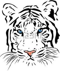 White Tiger Shower Curtain Showcase And Discover Creative Work On The World U0027s Leading Online