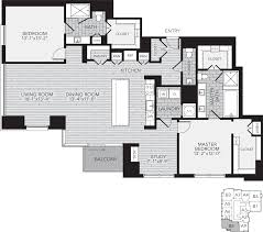 Floor Plans For 2 Bedroom Apartments Houston Apartment Rentals Floor Plans For Aris Market Square