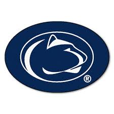College Team Rugs Penn State Nittany Lions Team Logo Accent Rug Lions Team