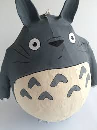 totoro pinata my neighbor totoro party totoro birthday