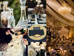 great gatsby wedding theme top left the wedding bottom