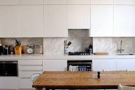 kitchen marble backsplash emily henderson s brass and marble kitchen backsplash kitchn