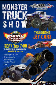 monster truck show in pa maple grove raceway ksr monster truck and thrill show
