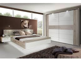 Schlafzimmer Hochglanz Beige Romana Schlafzimmer Sandeiche Weiss Hochglanz Schwebetürenschrank