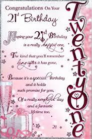 21st birthday birthday card happy 21st birthday male design