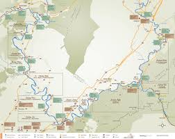 Virginia Rivers Map by Maps Upper James River Water Trail