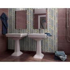 Mosaic Bathroom Mirror Mosaic Tile Mural Waterfalls Flow Patterns Bathroom Mirror Wall