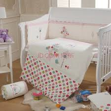 baby bedding set crib bedding set 2016 cot bedding set embroidery