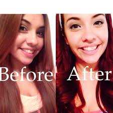 how i got my hair red wine red without bleach demo youtube