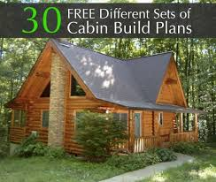 free cabin blueprints diffe sets of cabin build plans cottage bunkie house plan st cabin