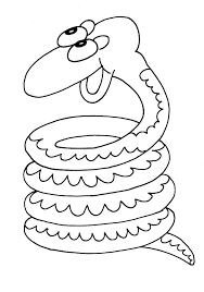 snakes coloring pages coloringpages1001 com
