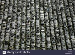 china guangxi ping u0027an hous roofs stock photo royalty free