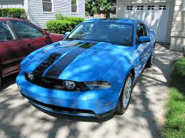 Green Mustang With Black Stripes The All Important Stripe Question Anandtech Forums