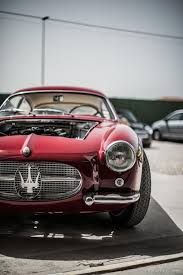 classic maserati convertible painstaking final preparations on classic maserati for villa d